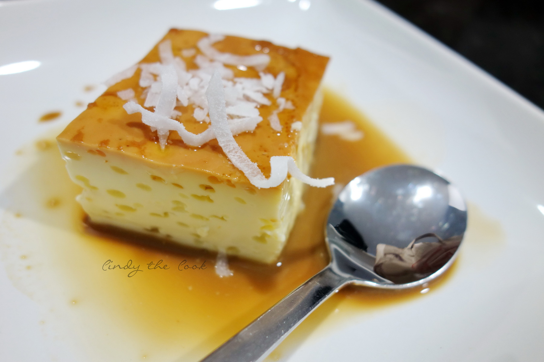 Coconut Flan | Cindy the Cook